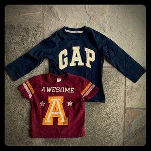 Baby Gap shirts 👶🏼👶🏾